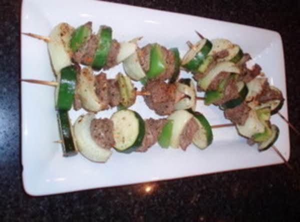 Beef & Vegetable Kabobs