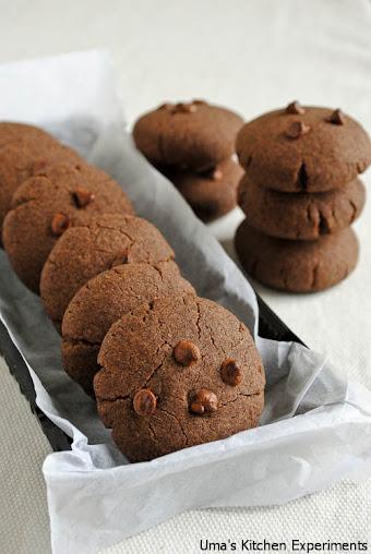 Eggless Ragi Cookies