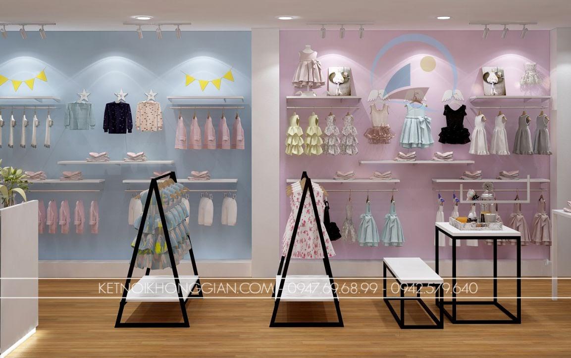 thiết kế shop thời trang trẻ em giá rẻ 14