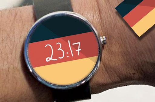 Germany Flag Watch Face