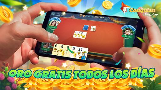 Conquian Zingplay: el mejor juego de cartas gratis filehippodl screenshot 3