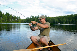 Photo: Fishing at Kettle Pond State Park by Lene Gary