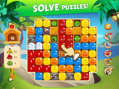 Angry Birds Blast Island Apk Mod Muitos Movimentos 8