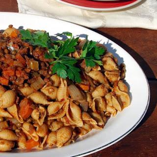 Slow Cooker Lentil Bolognese.
