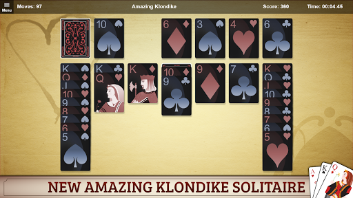Amazing Klondike Solitaire screenshots 3