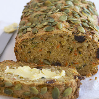 Zucchini, Carrot and Ricotta Loaf