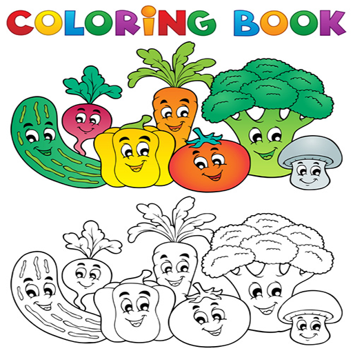 Kids Coloring Book Animals