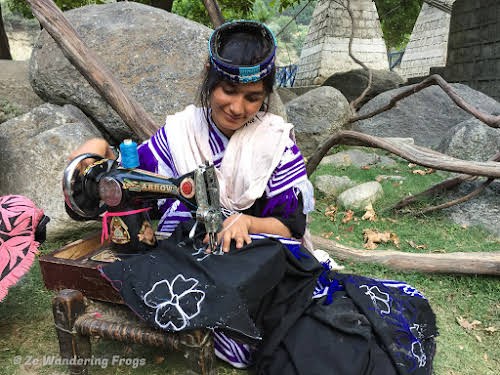 Pakistan Culture of the Kalash Valley Pakistan // Sewing a new Kalash dress ahead of the Uchal Festival