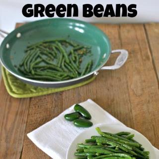 Spicy Tarragon Green Beans