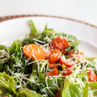Roasted Kale Salad with Lemon Dressing Recipe