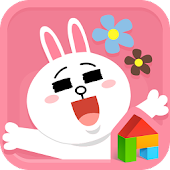 LovelyCony LINE Launcher theme