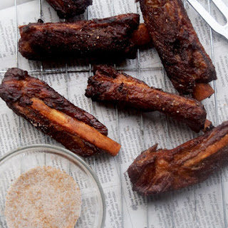 Chinese Five Spice Pork Ribs.