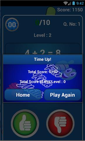 android Fun kids math game Screenshot 1