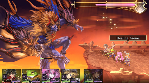 Screenshot for ANOTHER EDEN in United States Play Store