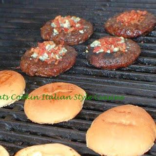 Italian Burger with Garden Relish