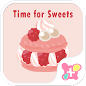 Macaroon Theme-Time for Sweets icon
