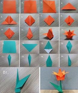 [idea way folded origami] Screenshot 2