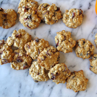 Orange Cardamom Cranberry Oatmeal Cookies Recipe