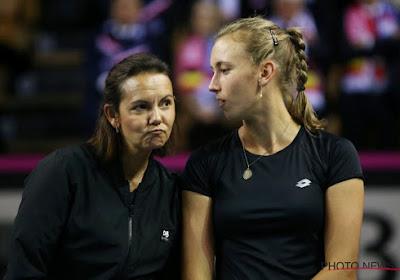"""Monami kijkt niet naar de Fed Cup: """"Het doet nog steeds pijn"""""""