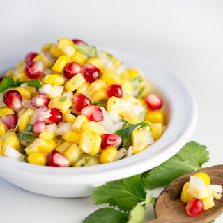 Corn Salad With Cilantro.