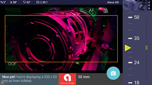 Magic ARRI ViewFinder Free screenshot 1