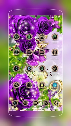 Download Rose Butterfly Gold Apk Latest Version App By