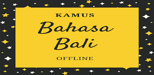 Kamus Bahasa Bali Offline Apps On Google Play