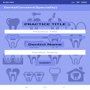 DentalConsent(Speciality) for PC-Windows 7,8,10 and Mac apk screenshot 1