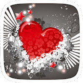 Heart Theme for samsung s5