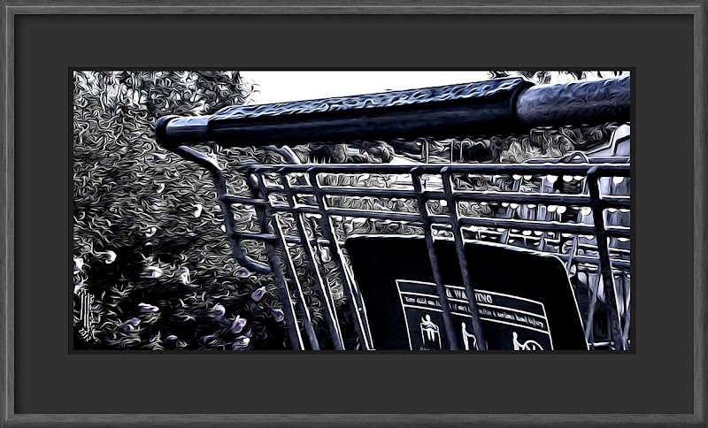 Photo: A chance encounter with an abandoned shopping cart after a rain, my contribution to the following daily themes: #monochromemonday curated by +Charles Lupica, +Hans Berendsen, +Steve Barge, +Jerry Kiesewetterand +Manuel Votta +Breakfast Clubcurated by +Gemma Costa +Breakfast Art Clubcurated by +Kate Church +Paintographycurated by +Ray Bilcliff, +Sherry McBriarand +Gail Beerman +PaintIt Clubcurated by +Alexius Jørgensen