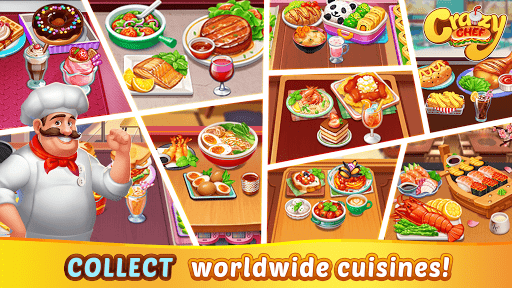 Crazy Chef: Fast Restaurant Cooking Games apkslow screenshots 12