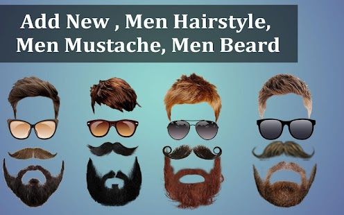 Man Suit Photo Editor-Beard-Mustache-Hairstyles - náhled