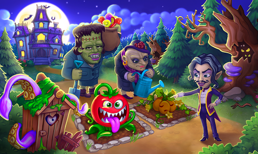 Monster Farm: Happy Ghost Village & Witch Mansion screenshots 12