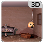 3D Escape Games-Halloween Castle