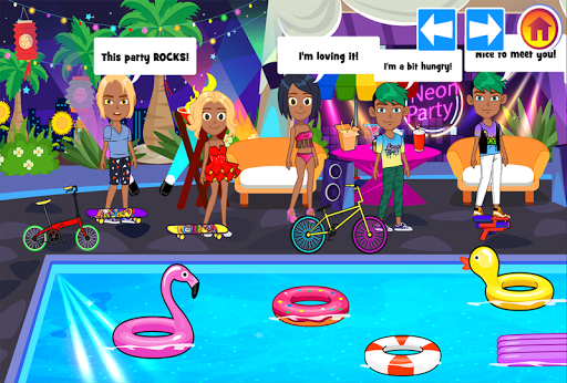 My Pretend Neon Night Club - Kids Dance Games FREE 1.8 screenshots 2