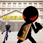 Stickman Museum Robbery Escape Icon