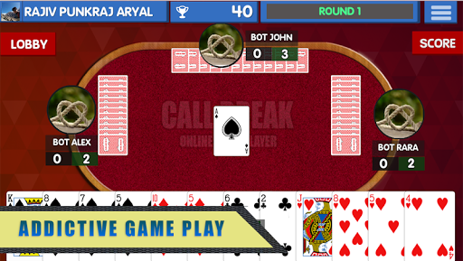Call Break Card Game  screenshots 3