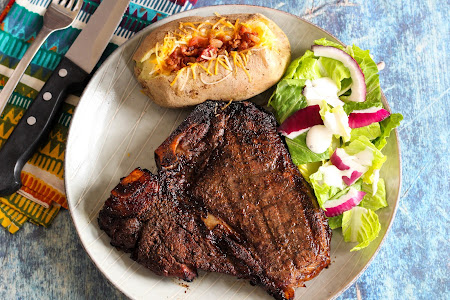 STEAK ON THE GRILL Recipe
