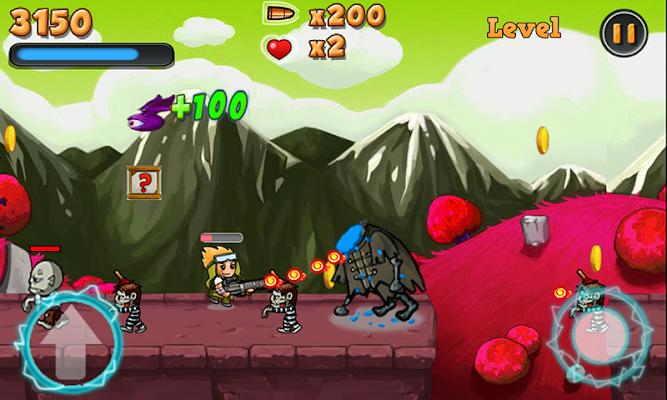 Zombie Shoot Run - screenshot