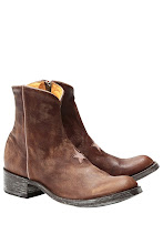 Photo: Boots Cuir MEXICANA, Star - Mode BE