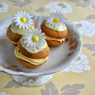 Jasmine and white chocolate Whoopie Pie
