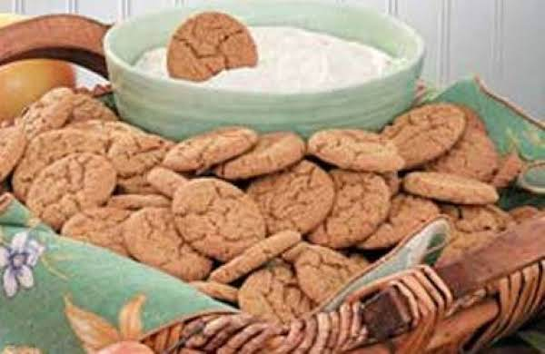 I Dip! You Dip! We Dip! Gingersnaps Recipe