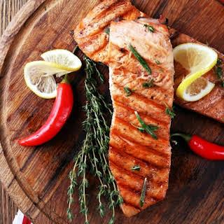 TMAC Salmon and Kale.