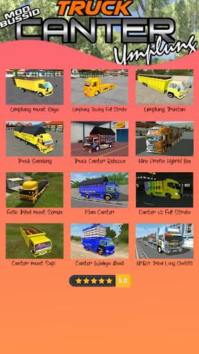 Mod Bussid Truck Umplung 1.0 screenshots 2