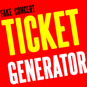 download fake concert ticket generator ticket maker for pc