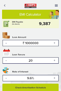 hdfc home loan calculators apps on google play