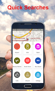 GPS route finder:Maps Navigation,share location - náhled