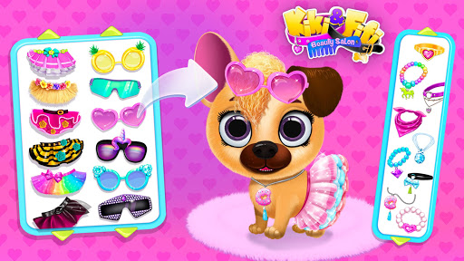 Kiki & Fifi Pet Beauty Salon - Haircut & Makeup 4.0.34 screenshots 5