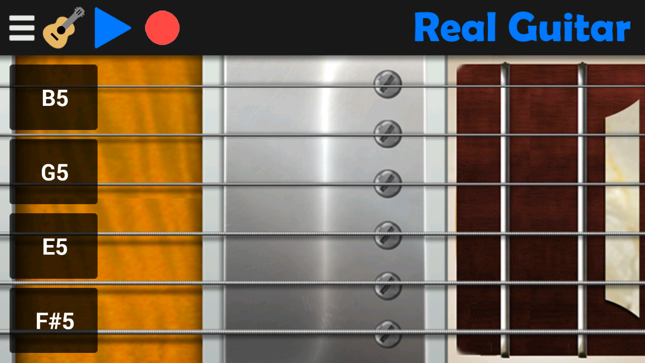Real Guitar- screenshot