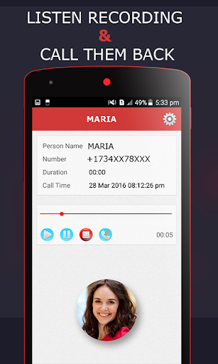 Live Call Recorder 1.30 screenshots 2